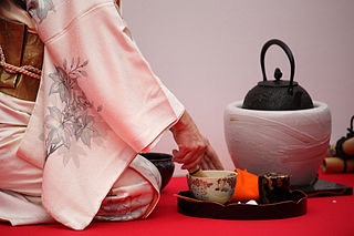 Japanese traditional culture: tea ceremony