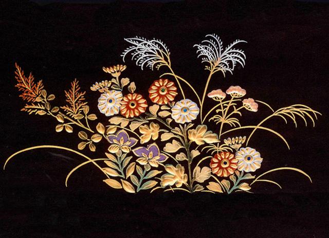 Japanese traditional culture: shikki(japan), lacquerware 2